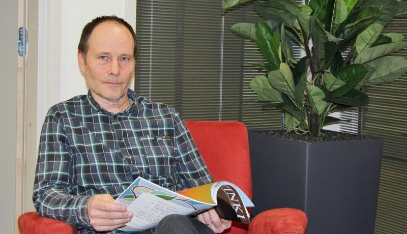 Linkki-järjestöhuoneen koordinaattori Jyrki Leppä