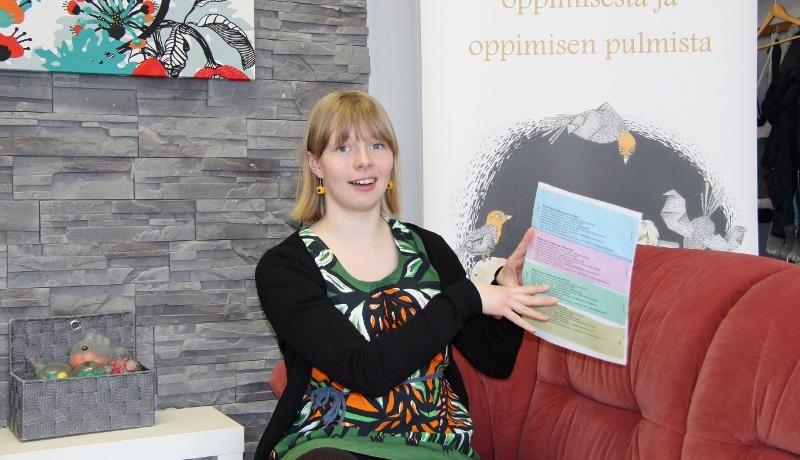 Jelpparit-hankkeen hankevastaava Linnea Breiling
